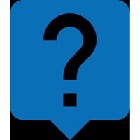 Fragezeichen-Symbol für regelmäßig Fragen