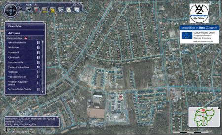 Karte Geoportal Satellit