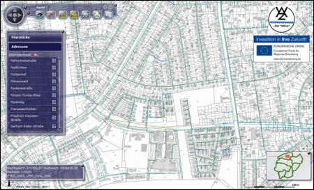 Karte Geoportal