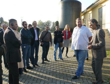 Mit Meister Andreas Roos im Wasserwerk Teltow