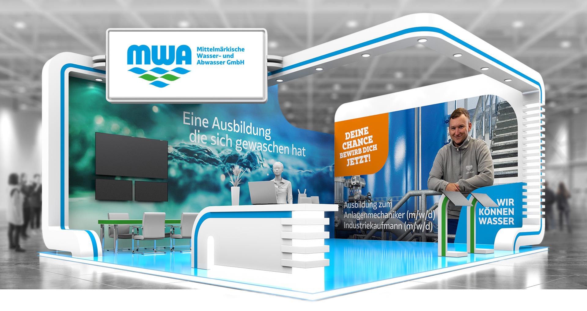 Mittelmärkische Wasser- und Abwasser GmbH wirbt digital für Ausbildungsplätze - Teltower Ausbildungsmesse findet virtuell statt